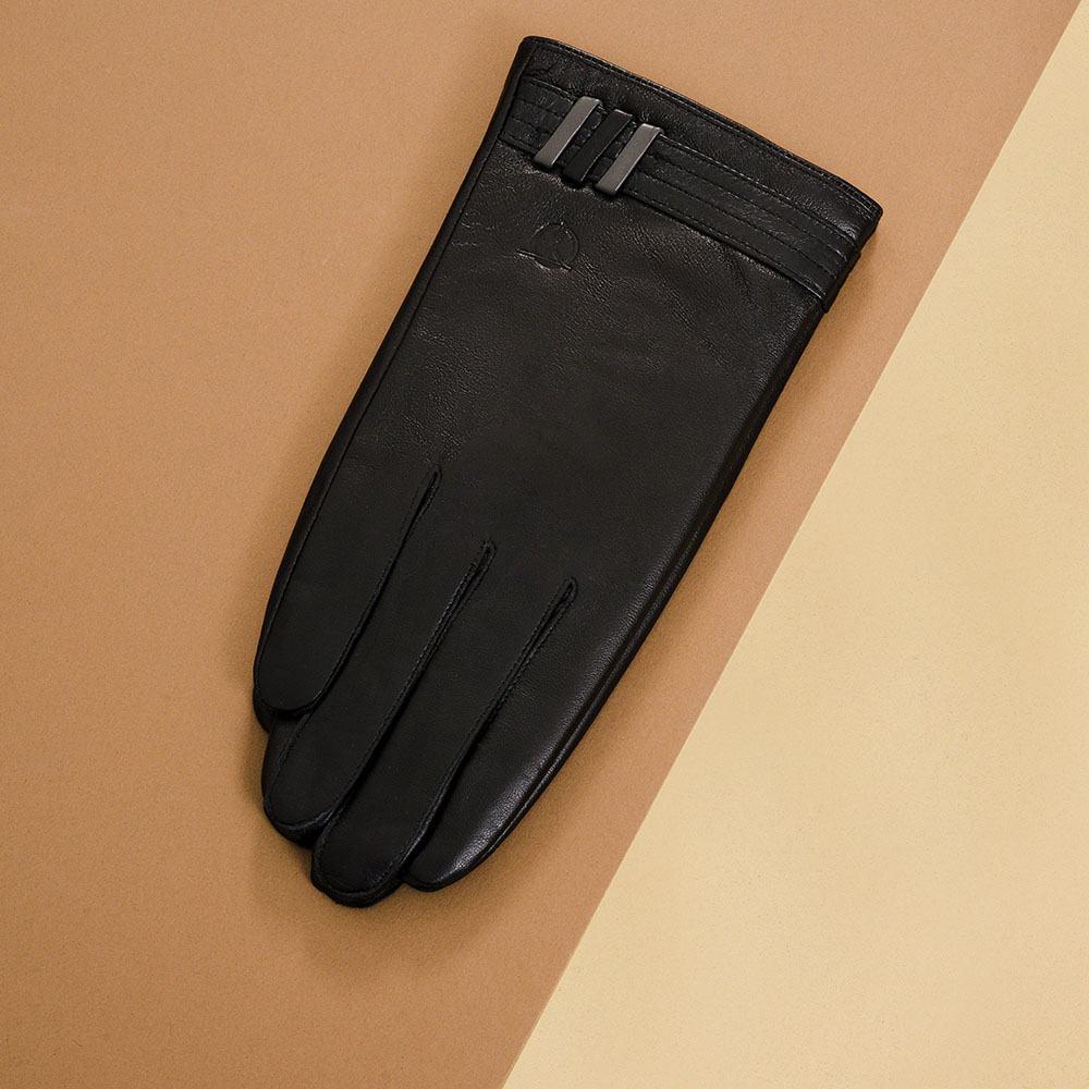 Găng tay da nam cảm ứng GTTACUNA-34-D