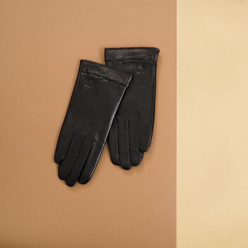 Găng tay da nữ cảm ứng GTTACUNU-17-D