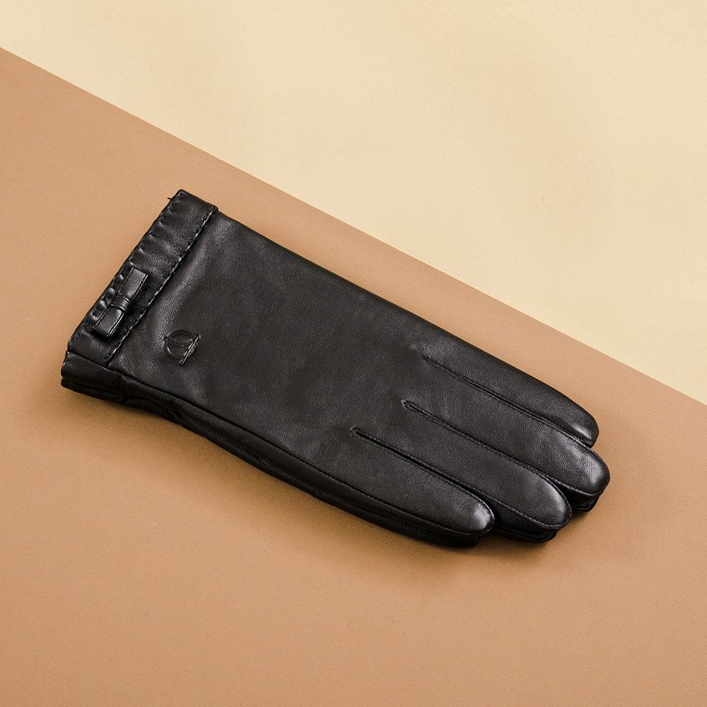 Găng tay da nữ cảm ứng GTTACUNU-18-D