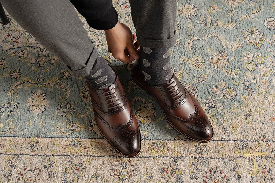 Giày nam Tâm Anh tặng sếp