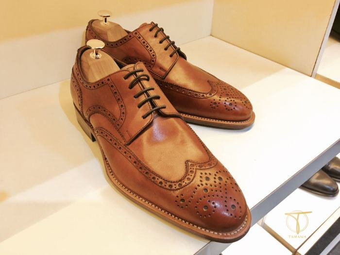 Mẫu giày Brogue