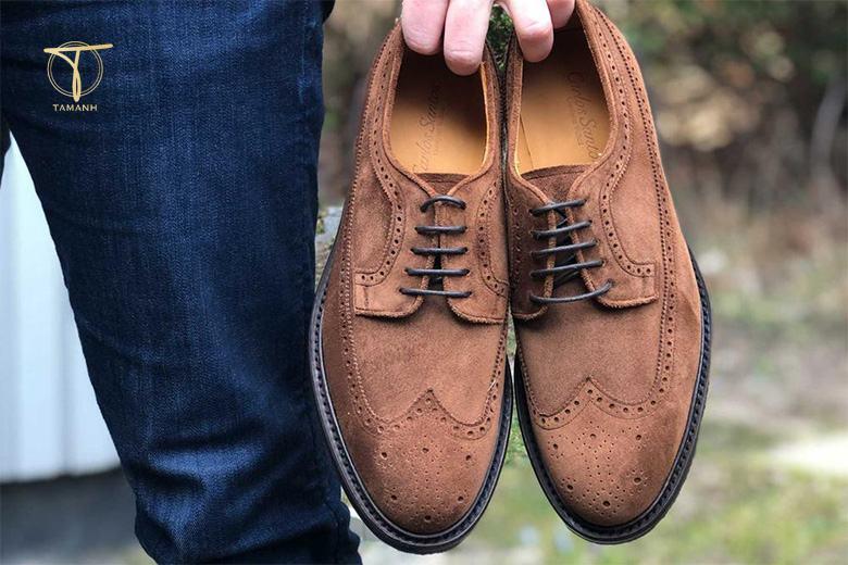 Mẫu giày Longwing Brogues