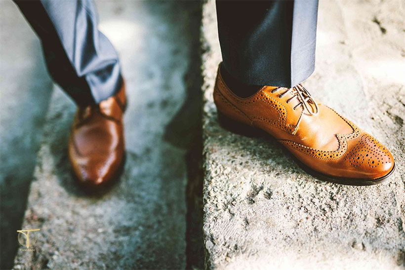 Nguyên nhân giày da bị bong tróc