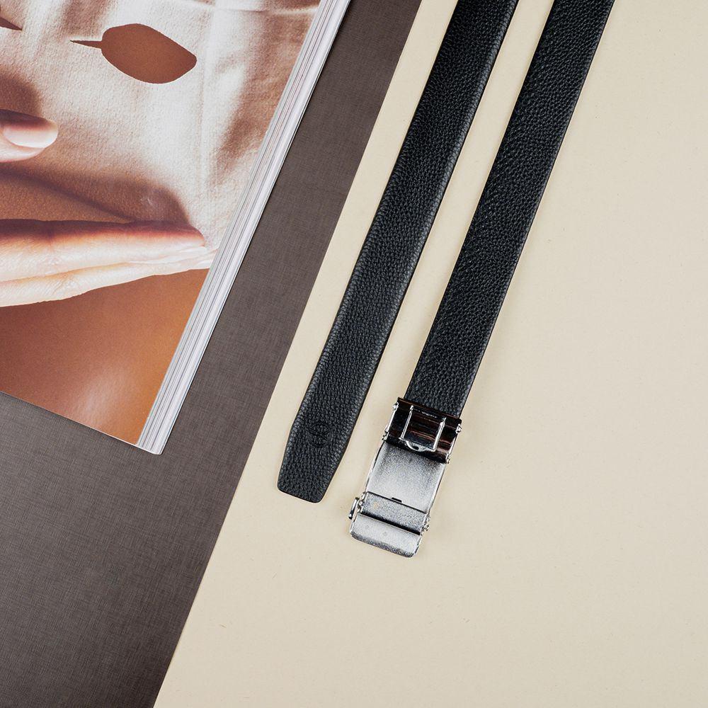 Thắt lưng nam mặt khóa đen sang trọng D390-202064