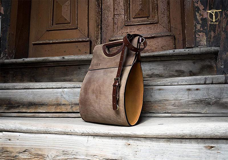 Túi da thủ công đẹp