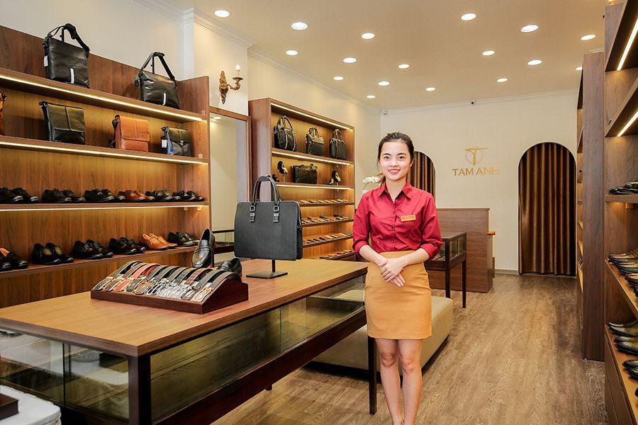 Cửa hàng đồ da thương hiệu Tâm Anh