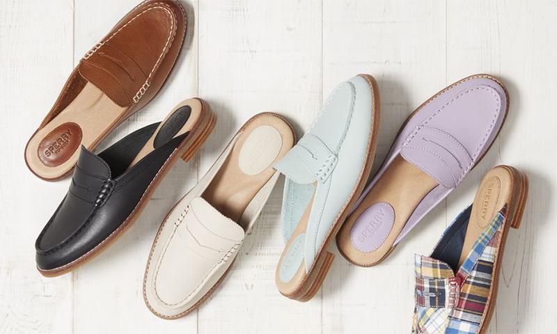 Kiểu dáng giày sục