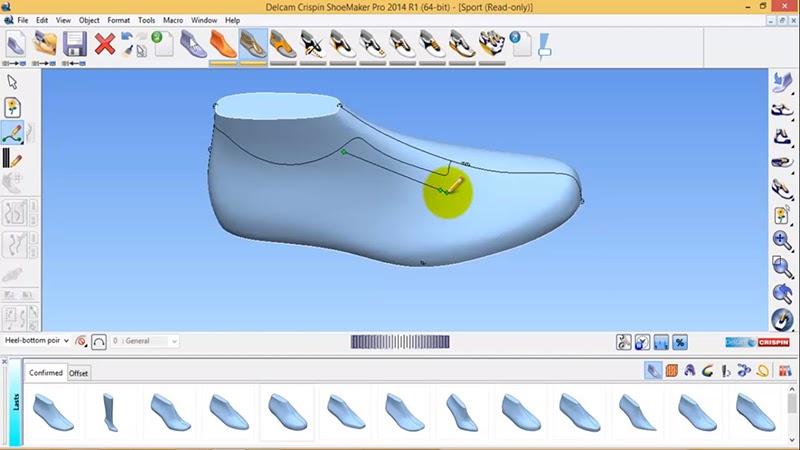 Phần mềm Delcam Crispin Shoemaker
