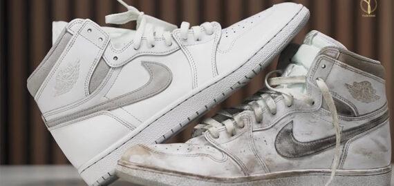 Cách vệ sinh giày thể thao/sneaker đúng cách sạch như mới