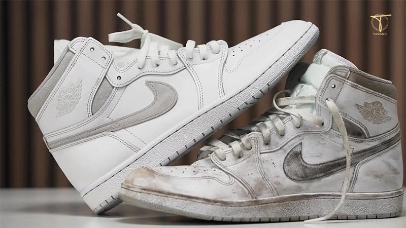 Vệ sinh đôi giày Sneaker