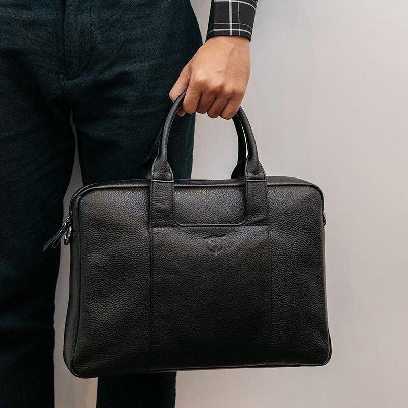 Cặp da nam kiểu dáng briefcase