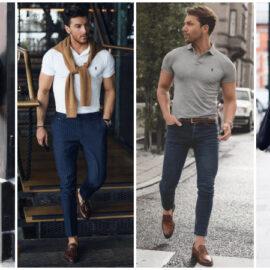Phong cách denim với cách chọn giày da nam chuẩn gu